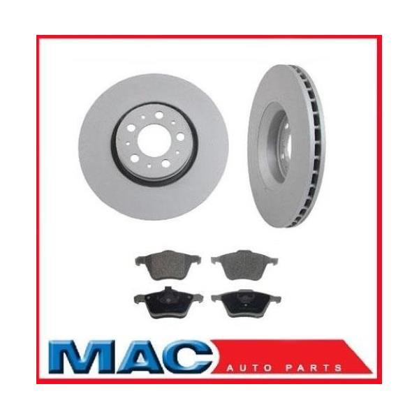 Volvo S60 With 317MM Front Brake Rotors & MD794 Pads