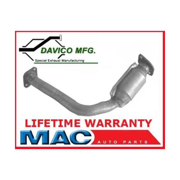 1999-2000 Montero 3.5L Engine D/S Engine Pipe And Catalytic Converter
