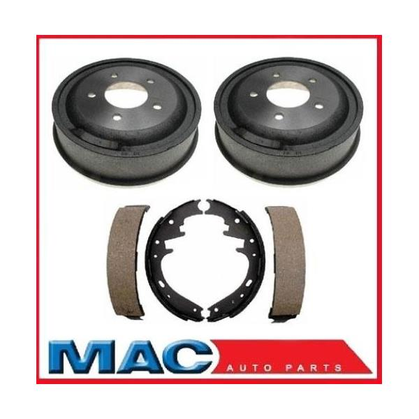 00-06 E150 Ford Van (2) Rear Brake Drums and Shoes