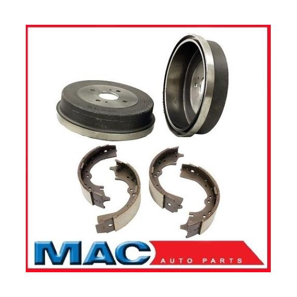 1984-1989 Toy Van 2 W/D (2) Rear Brake Drums and Shoes