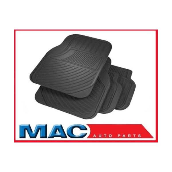 ACURA All Season Black Rubber Mats OEM Quality 4-Pc set