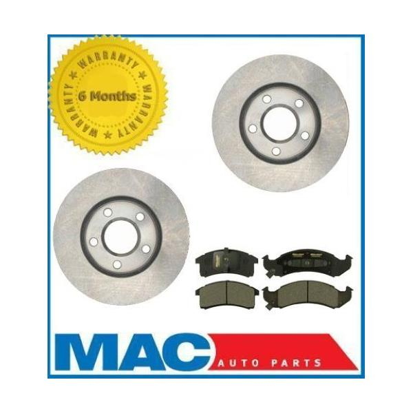 BUICK CADILLAC CHEVROLET OLDSMOBILE PONTIAC Front Brake Pads and Rotors
