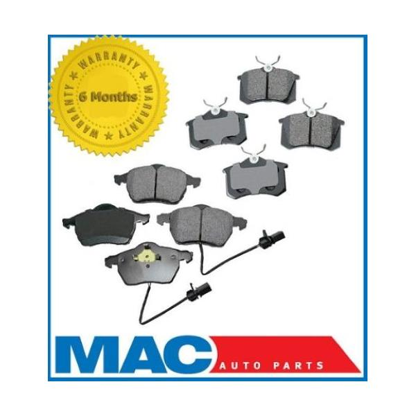 Pro Date 02/1999-06 Audi A4 A4 Quattro Front & Rear Brake Pads 288MM 11 3/8 inch