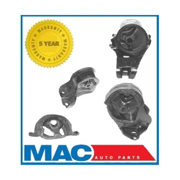 1992-1993 ACURA INTEGRA 1.8L MOTOR and TRANS MOUNT KIT 4PCS.
