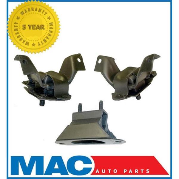 1984-1993 Ford MUSTANG 5.0 Convertible 3 pc Motor Mounts Kit