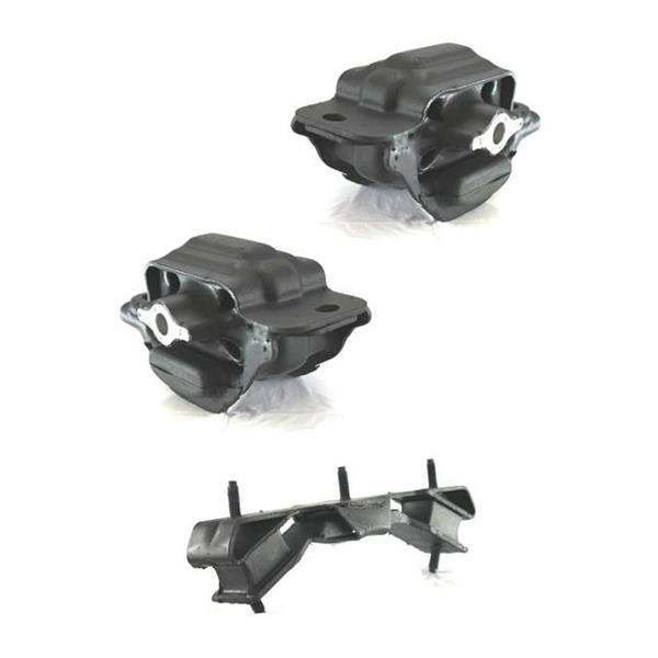 DODGE 2006-2008 PICKUP RAM 2500 3500 Engine and Transmission Mounts 3pc Kit