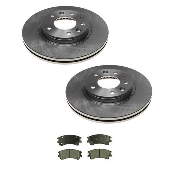 03-05 Mazda 6 (2) 31367 Front Disc Brake Rotor & Ceramic Brake Disc Pads