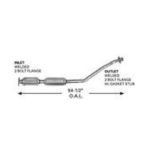 CATCO 4232 Catalytic Converter