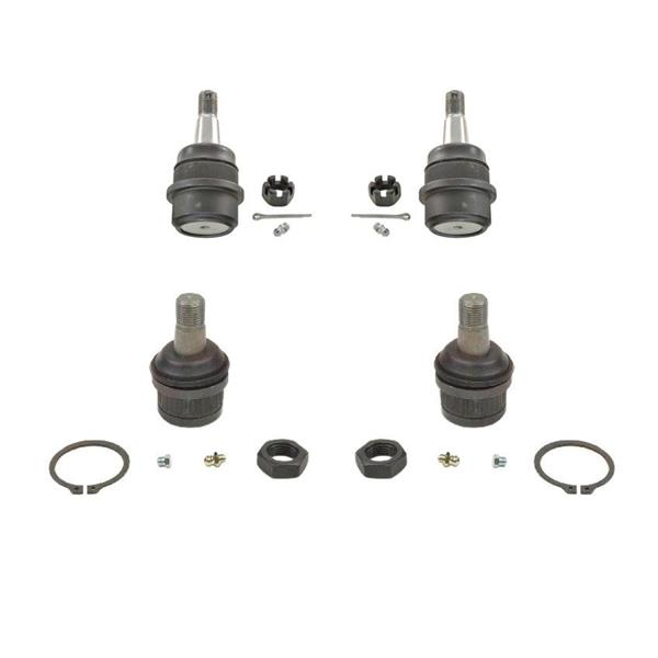 94-99 Dodge Ram 1500 4X4 Upper & Low Ball Joints Joint 4pc REF#K7208T K8195T