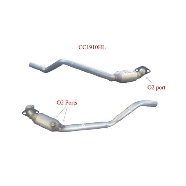 03-05 Lincoln LS 3.0L Passengers Side Eng Pipe and Catalytic Converter CC1910HL