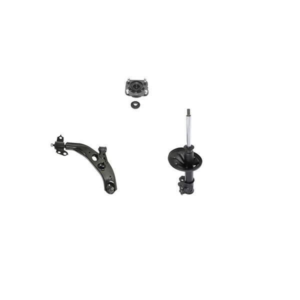98-02 626 Lower D/S Control Arm Ball Joint Strut & Upper Strut Mount