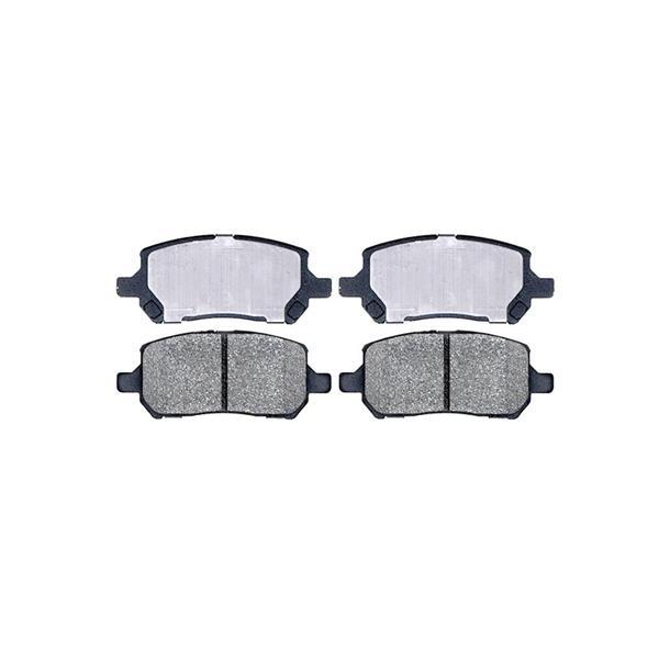 Dash 4 Brake CD956 Disc Brake Pad - Ceramic Brake Pads, Front Cobalt G5 ION
