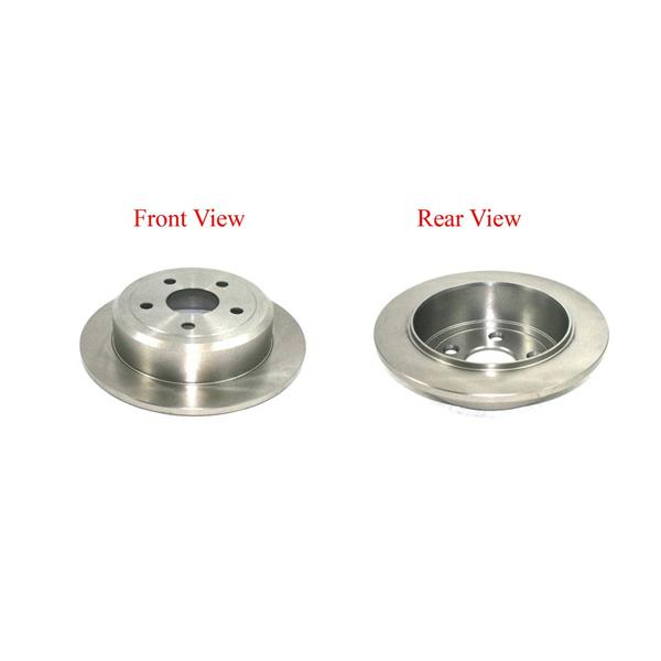 Brand New Rear Disc Rotor Fits Wrangler 07-13