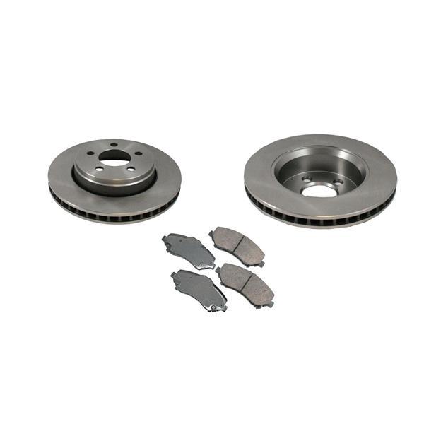 Standard 12 Inch Rotors  53042 Disc Brake Rotor CD1273 Ceramic Pads