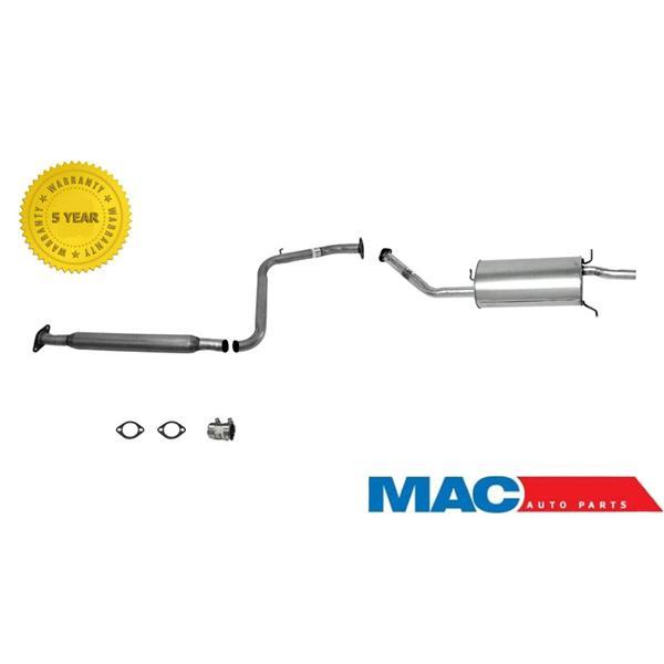 1993-1997  Mazda 626 2.0L Exhaust System Muffler