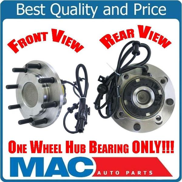 Wheel Bearing Hub Assembly Ft 515100 Fits Rear Wheel Drive 99-04 F250 Super Duty