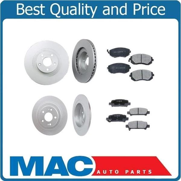 06-09 Outback 2.5L Non Turbo Front & Rear Rotors & Ceramic Pads