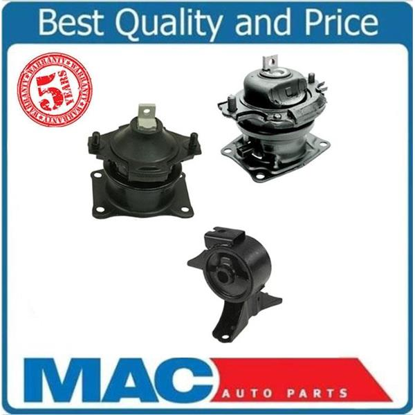 ODYSSEY 05-07 IVTEC Front Rear with Sensor and Front Engine Motor Mounts 3pc KIT