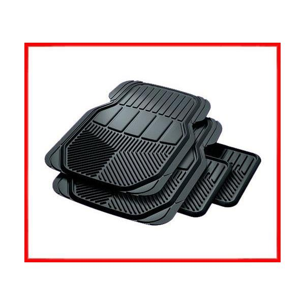 DODGE RAM All Season Black Rubber Mats Oem Quality 4pc
