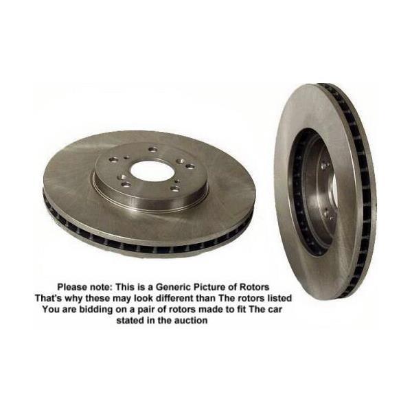 2002-2004 Ford Focus SVT  Disc Brake Rotors Rotor Rear