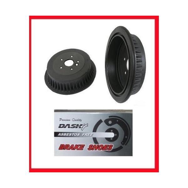 1994-1997, 1999 Dodge Ram 1500 (2) Brake Drum Drums & Rear Brake Shoes