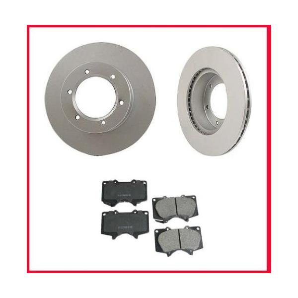 2003-2009 4 Runner Front Brake Rotors & CERAMIC Pads