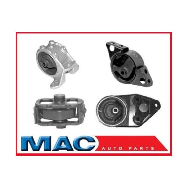Engine Motor Mount Kit 4 Piece for 1991-1996 Infiniti G20 Manual Transmission