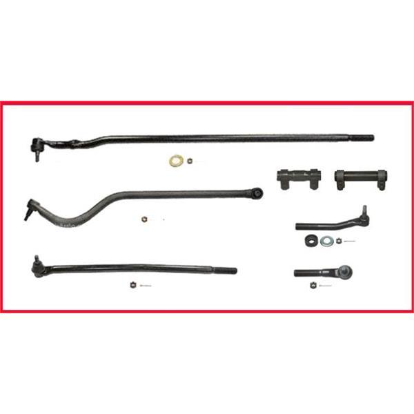 98-99 Dodge Ram HD 2500 3500 Drag Link Tie Rod Rods Track Bar W SOLID FRT AXLE . Mac Auto Parts