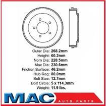 (1) 80125 Rear Brake Drum New