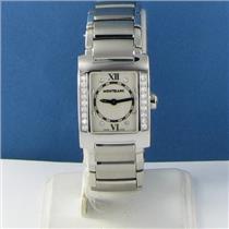 Montblanc 35740 Profile Diamond Bezel 0.45cts Watch EIF Limitd Edition New $4600