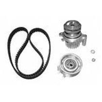 VW 2.0L  TB296LK1 Engine Timing Belt Kit with Water Pump Plastic Impella