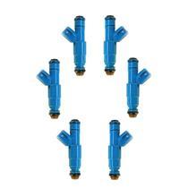 02-03 Liberty & Ram 1500 V6 3.7L (6) MP10566 Reman Fuel Injectors + 24.00 Refund