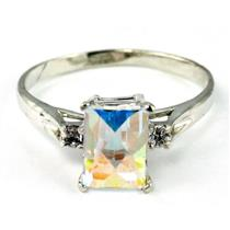 SR171, Mercury Mist Topaz, 925 Sterling Silver Ring