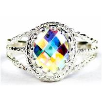 Mercury Mist Topaz, 925 Sterling Silver Ring, SR070
