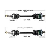 02-4 Arctic Cat 250 300 375 400 4X4 Frt L & R CV Axle Shaft Complete New ARC7001