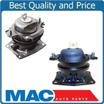 05-07 Honda Odyssey IVTEC Front Rear Engine Motor Mount Kit Pair with Sensor 3.5