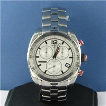 Tissot T0764171103700 PRS 330 Chronograph Silver Dial Steel Bracelet Watch New $750