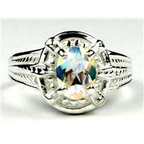 SR284, Mercury Mist Topaz, 925 Sterling Silver Ring