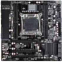 EVGA X99 Micro Desktop Motherboard Intel X99 Chipset Socket R3 131-HE-E995-KR