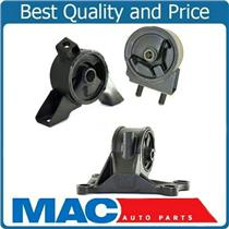 01-02 Mazda 626 2.0L A/T Set Front  Engine Motor & Transmission Mount 3pc Kit