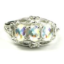 SR163, Mercury Mist Topaz, Sterling Silver Ring