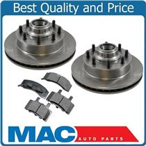 (2) 5598 Disc Brake Rotor, Front With CD370 Ceramic Pads Customer Must Be Called
