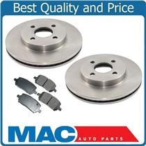 (2) 55152 Disc Brake Rotors 4 Lug With CD956 Ceramic Pads Call Check Info