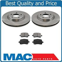 (2) 11.65 Inch Rotors With Ceramic Pads for 2004-2011 Malibu