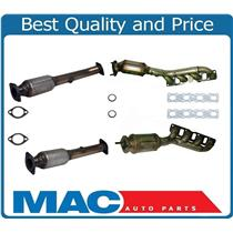 (4) Manifold Catalytic Converter Frt & Rear L & R for QX56 Titan P430 2322 USA
