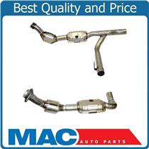 01-03 Ford F150 4x4 2004 Heritage 4.2L V6 Y Pipe & 4 Catalytic Converter NEW
