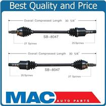 (2) 100% New Complete CV Axle Shaft-New Front Left & Right 05-09 Outback