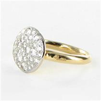 Pomellato Sabbia Pave Diamond 0.68cts Ring 18k Rose Gold New $5950