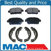 100% New Front Ceramic Brake Pads & Rear Brake Shoes for Toyota Prius 01-08 2pc