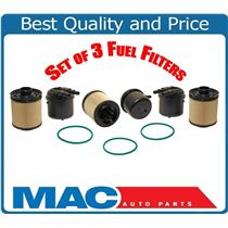 3 Fuel Filter PFD4615 Fits For 11-15 F250 Super Duty 6.7 Turbo Diesel BC3Z9N184B
